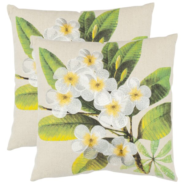 Colt Cotton Throw Pillow (Set of 2) by Safavieh
