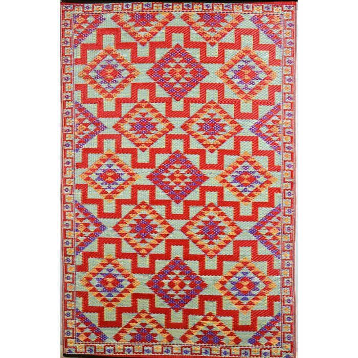 fiesta red area rug