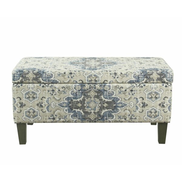 Knutsford Upholstered Storage Bench by Alcott Hill