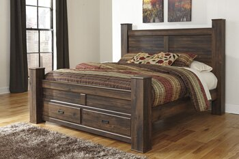 Saint Marys Four Poster Storage Bed by Laurel Foundry Modern Farmhouse