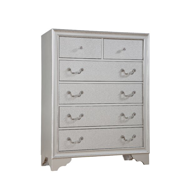 Fritz 6 Drawer Gentlemans Chest by House of Hampton