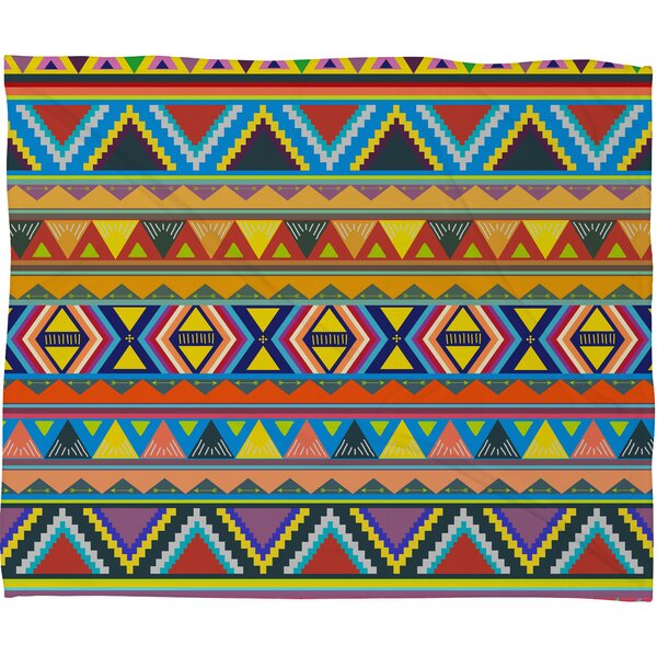 Bianca Green Play Throw Blanket by Deny Designs