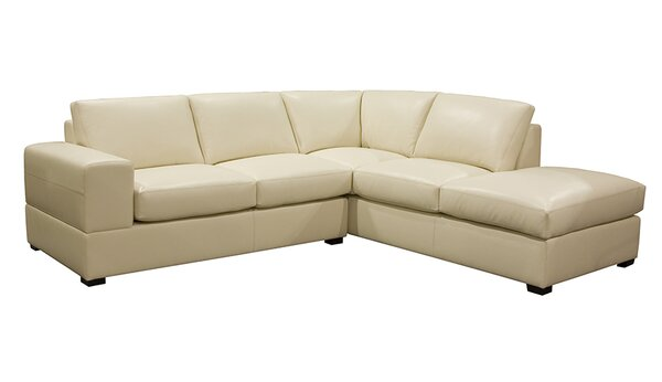 Kolya Leather Sectional by Red Barrel Studio