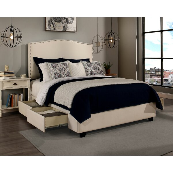 Almodovar 4 Drawer Upholstered Storage Platform Bed by Darby Home Co