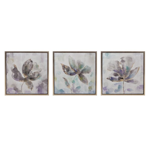 3 Piece Larissa Framed Oil Paintings Print Set by Red Barrel Studio