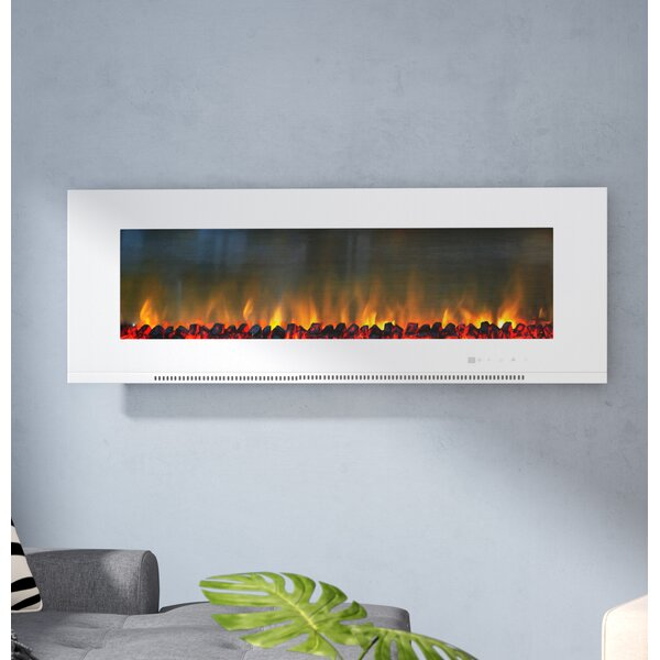 Abou Wall Mounted Electric Fireplace by Orren Ellis