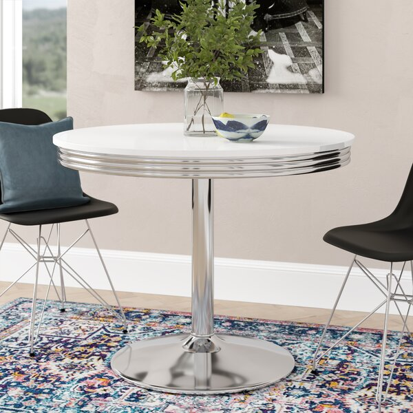 Sherly Retro Dining Table by Latitude Run