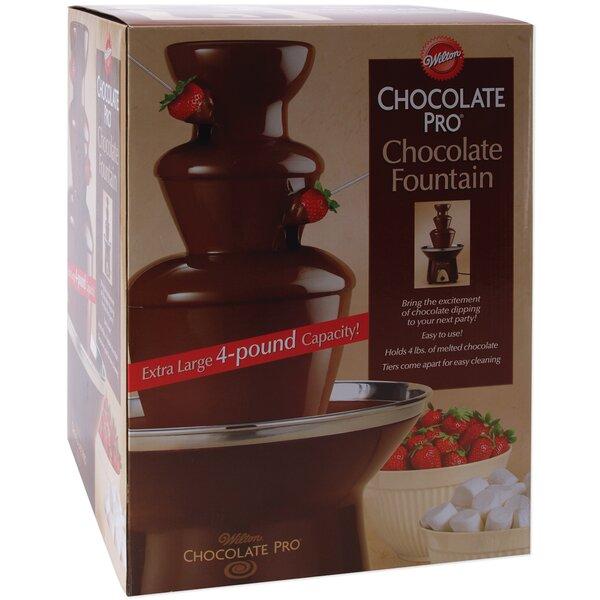 Pro 3 Tier Chocolate Fountain By Wilton.