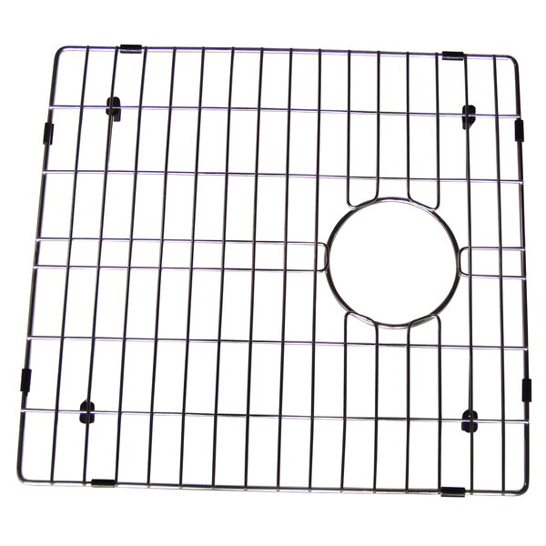 Stainless Steel 16 W x 17 D Sink Grid by Yosemite Home Decor