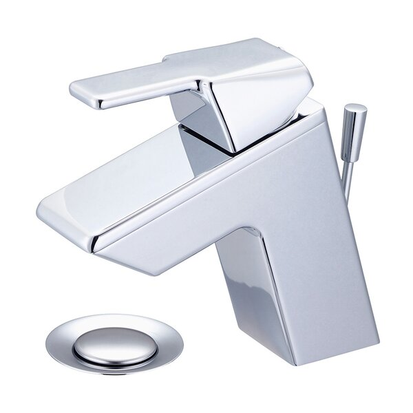 Lavatory Single Hole Handle Bathroom Faucet with Drain Assembly by Olympia Faucets Olympia Faucets