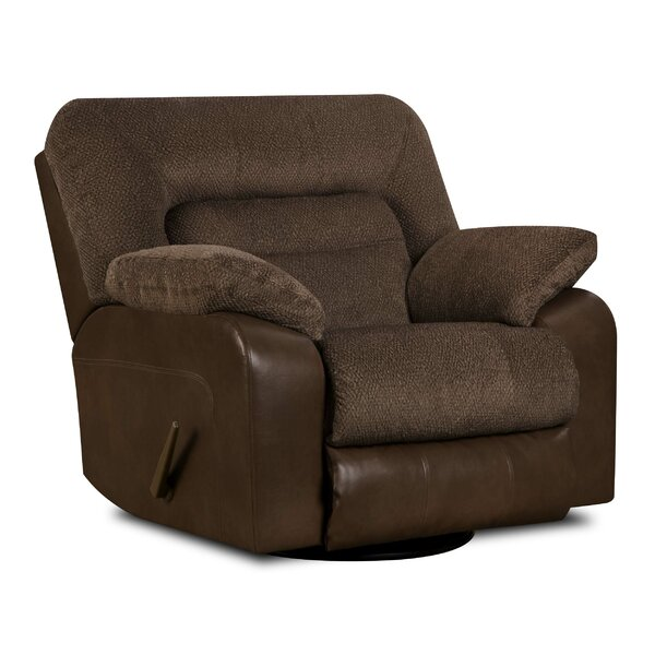 Triggs Manual Rocker Recliner by Simmons Upholstery by Red Barrel Studio