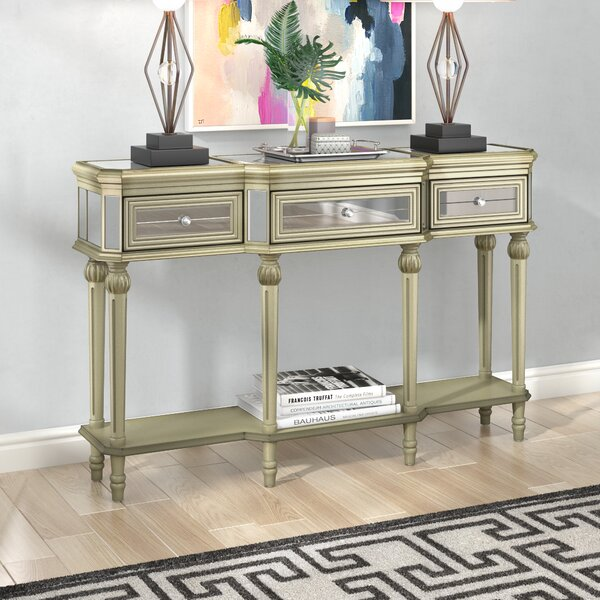 Poston 3 Drawer Console Table by Willa Arlo Interiors