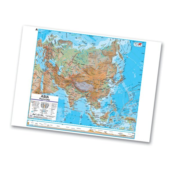 Advanced Physical Deskpad - Asia by Universal Map