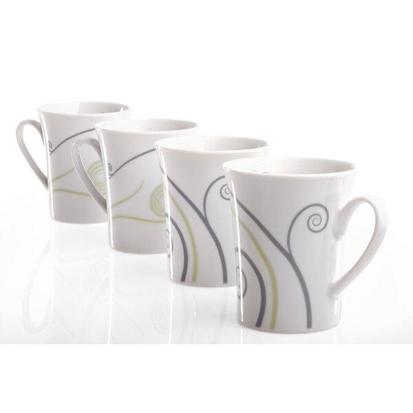 Vivente Portion Control Mug (Set of 4) by Livliga