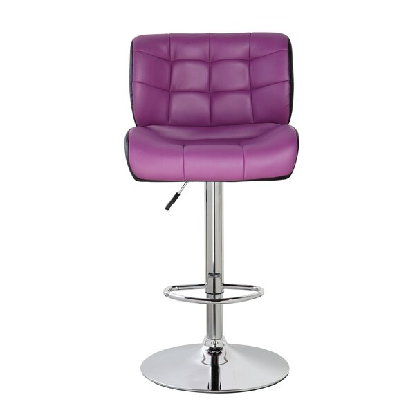 Lincolnwood Classic Adjustable Height Swivel Bar Stool by Orren Ellis