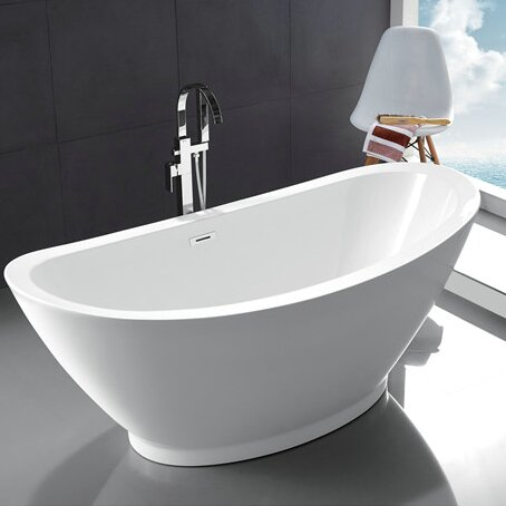 68.7 x 33.66 Bathtub by Legion Furniture