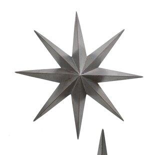Merveilleux Metal Star Wall Décor