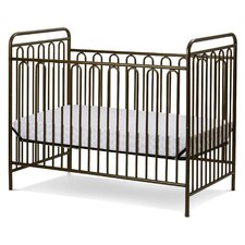 Trinity Metal 3-in-1 Convertible Crib