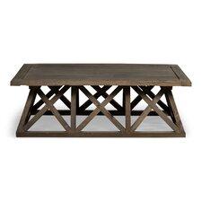 Trestle Coffee Table by Sarreid Ltd