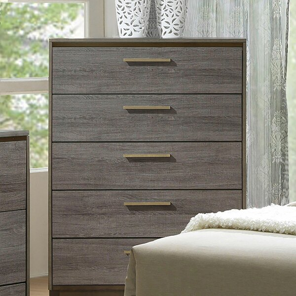 Melra 5 Drawer Chest by Brayden Studio