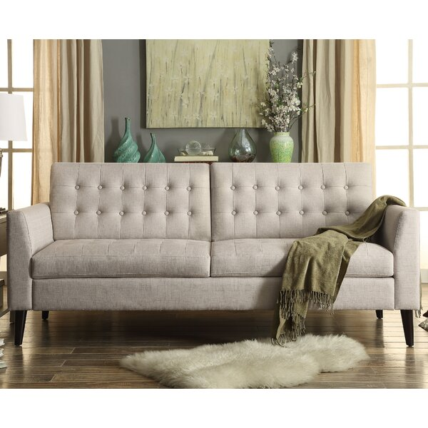 High-quality Darren Tufted Sofa by Langley Street by Langley Street