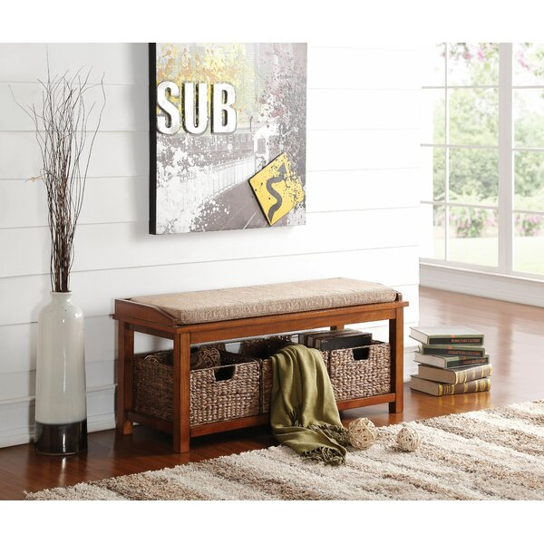 Briley Storage Bench by Darby Home Co