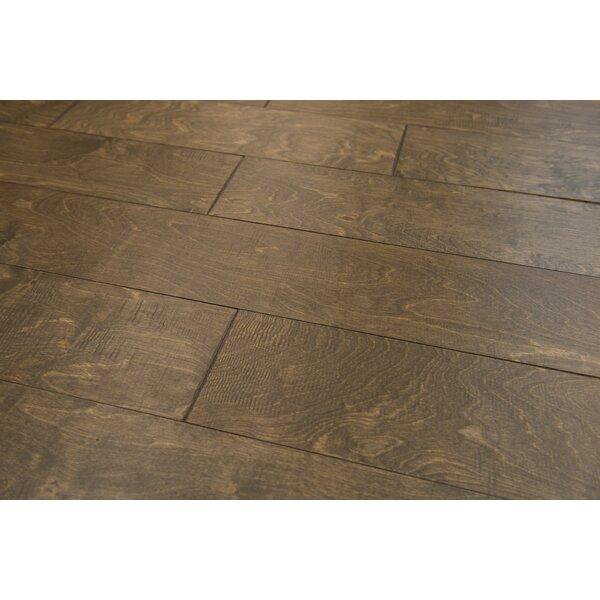 Estonia 6.5 Engineered Birch Hardwood Flooring in Granola by Branton Flooring Collection