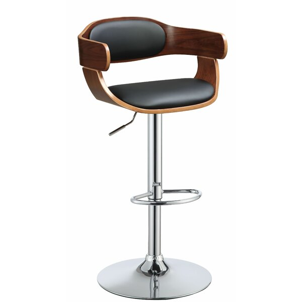 Bromsgrove Adjustable Height Bar Swivel Stool by Corrigan Studio