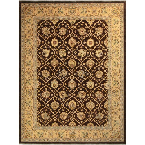 One-of-a-Kind Dorn Hand-Knotted Wool Brown/Beige Area Rug by Isabelline