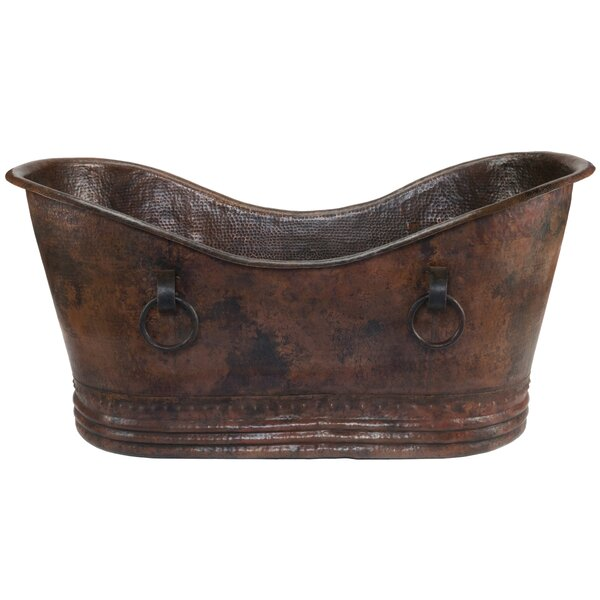 72 x 35 Double Soaking Bathtub by Premier Copper Products