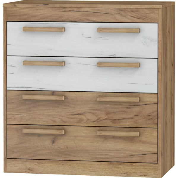 Columbia 4 Drawer Bachelors Chest by Ebern Designs