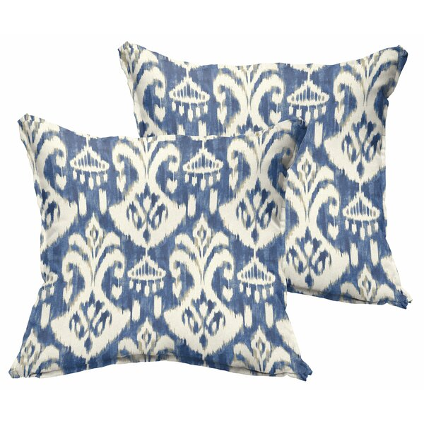 Pederson Indoor/Outdoor Square Throw Pillow (Set of 2) by Andover Mills