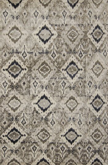 Piqua Hand-Tufted Black/Brown Area Rug by Bungalow Rose