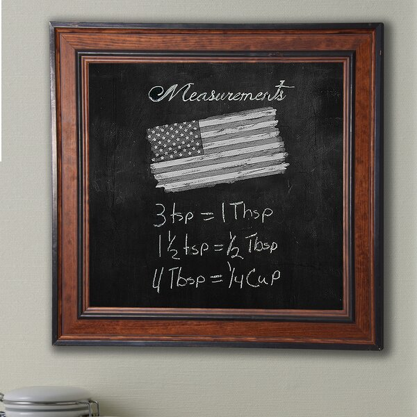 Country Pine Wall Mounted Chalkboard by Darby Home Co