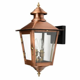 Read Reviews Hartline 2-Light Outdoor Sconce By Alcott Hill