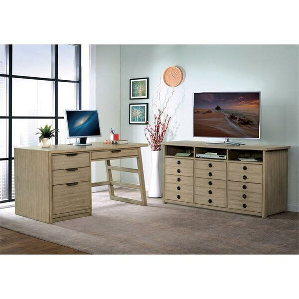 Arbyrd 2 Piece Desk Office Suite by Greyleigh