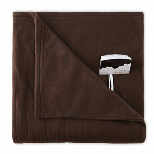 Comfort Knit Fleece Electric Heated Blanket by Bell + Howell