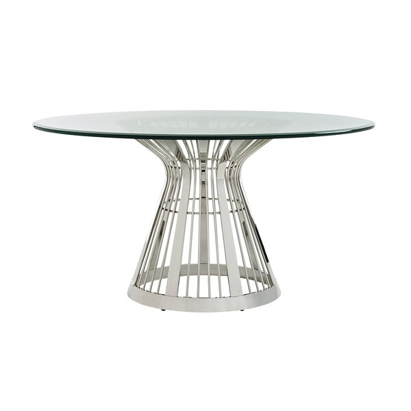 Ariana Riviera Glass Top Dining Table by Lexington Lexington