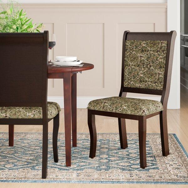 Nikolas Upholstered Dining Chair (Set of 2) by Hokku Designs Hokku Designs