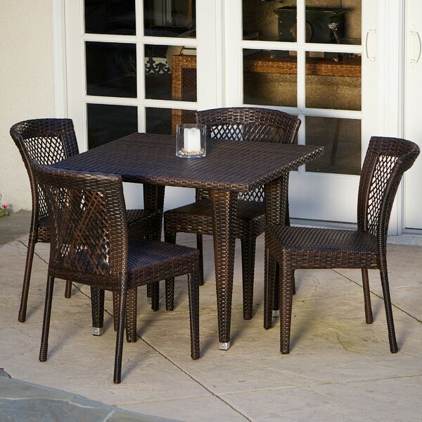 Northmoore 5 Piece Dining Set by August Grove