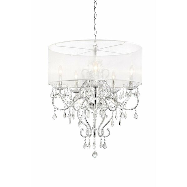 Hutchings 8-Light Candle Style Drum Chandelier By House Of Hampton