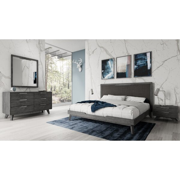 Gideon Platform 5 Piece Bedroom Set by Modern Rustic Interiors
