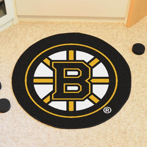 NHL - Boston Bruins Puck Doormat by FANMATS