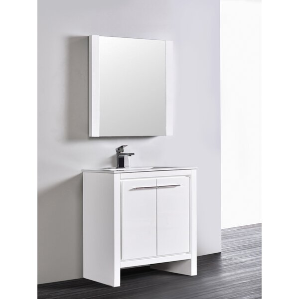 Artemis Modern 29 Single Bathroom Vanity Set with Mirror by Ivy Bronx