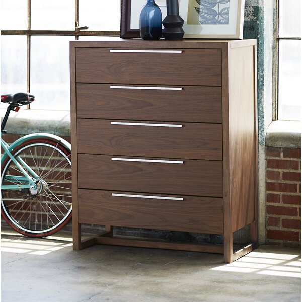 Bazemore 5 Drawer Chest by Orren Ellis