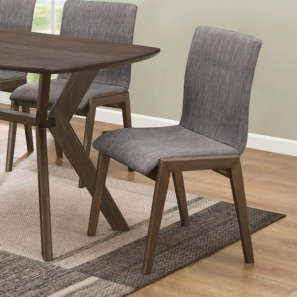 Pinon Mid-Century Sylvan Upholstered Dining Chair (Set of 2) by Union Rustic