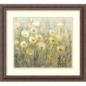 'Summer in Bloom I' Framed Painting Print by Ophelia & Co.