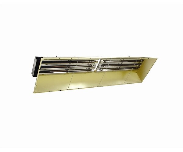 Heavy Duty 92,151 BTU Ceiling Mounted Electric Infrared Heater by TPI