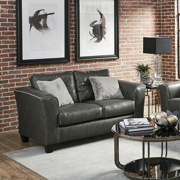 Shop Online Crecy Loveseat by Winston Porter by Winston Porter