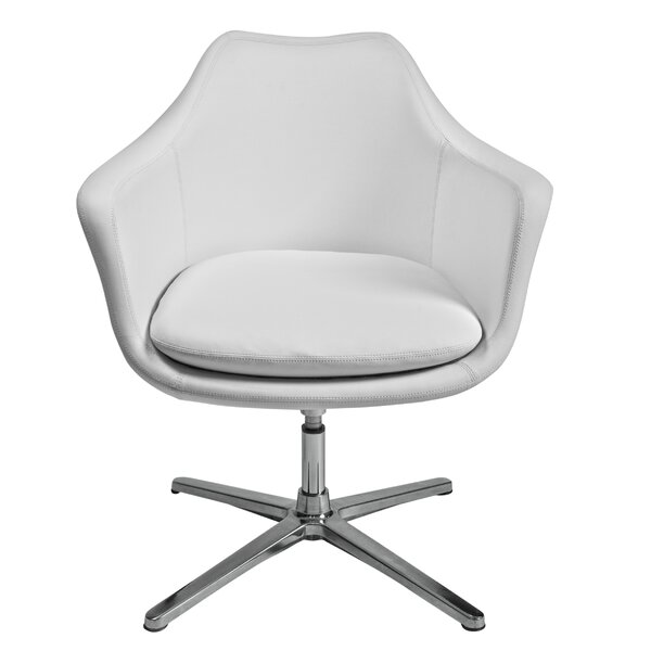 Long Ashton Swivel Lounge Chair by Orren Ellis